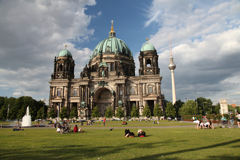 Berliner Dom; the largest church in Germany. Berlin, Germany.
