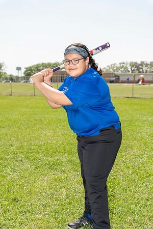 Rice Major Blue Softball