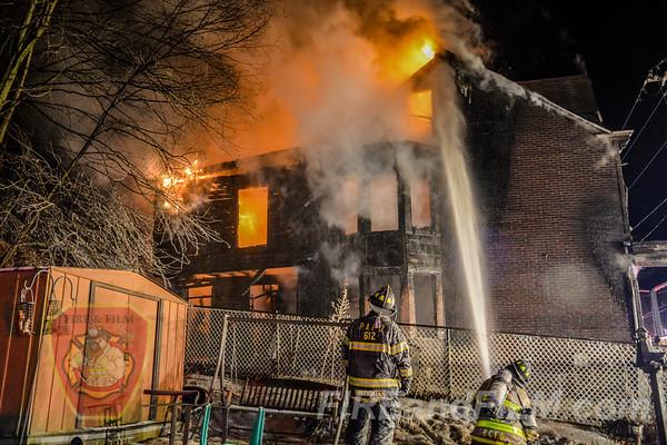 Schuylkill County - Palo Alto - Dwelling Fire - 01/05/2018