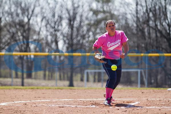Women's Softball - Pink Cancer Awareness Game