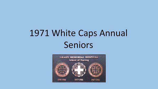 1971 White Caps Yearbook
