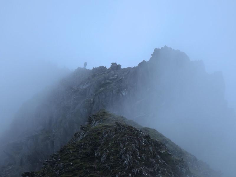 Finally, we made the ridge!