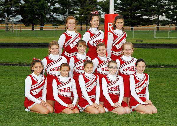 SN MS Cheerleading Team 11-12