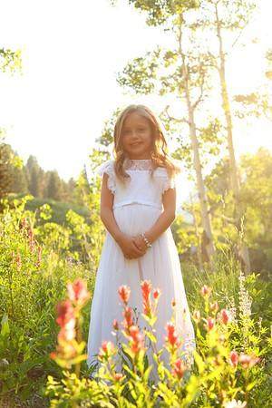 Hailee baptism photos