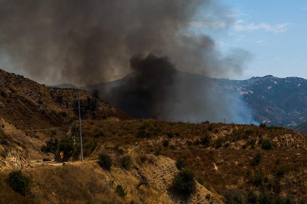 Sun 8/16/20 Malibu Creek Fire