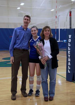 EHS Volleyball Senior Night