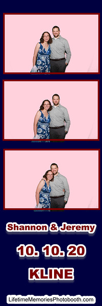 Shannon & Jeremy Kline Wedding Oct. 2020