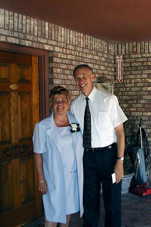 Heidi and Garrett Kluth Wedding June 2002