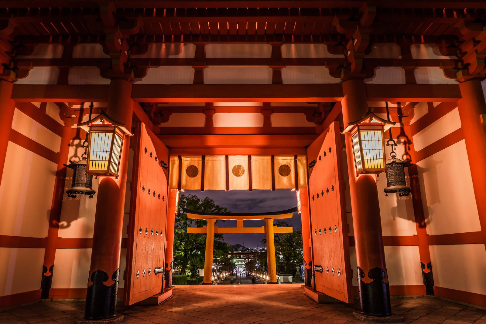 fushimi inari gate torii