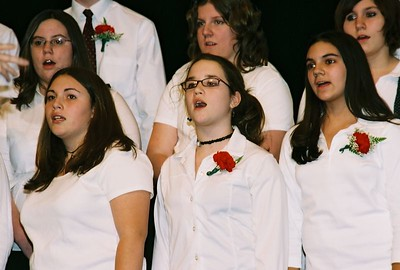 SCHAGHTICOKE MIDDLE SCHOOL WINTER CONCERT, NEW MILFORD, CT 2004
