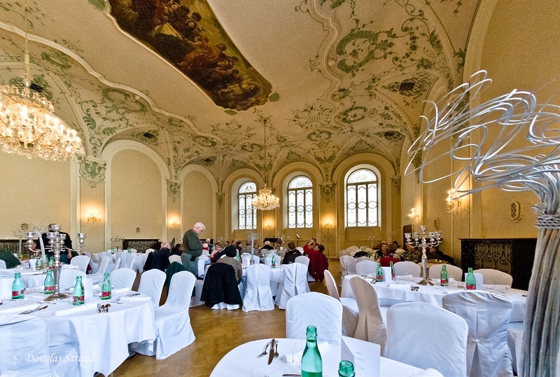 Enjoyed our lunch in this grand dining room, Salzburg