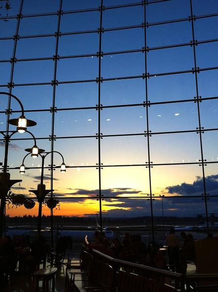 SEATAC sunset