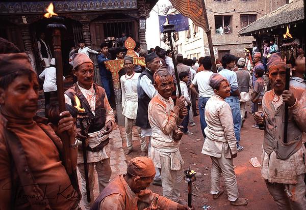 Sindur Jatra in Thimi