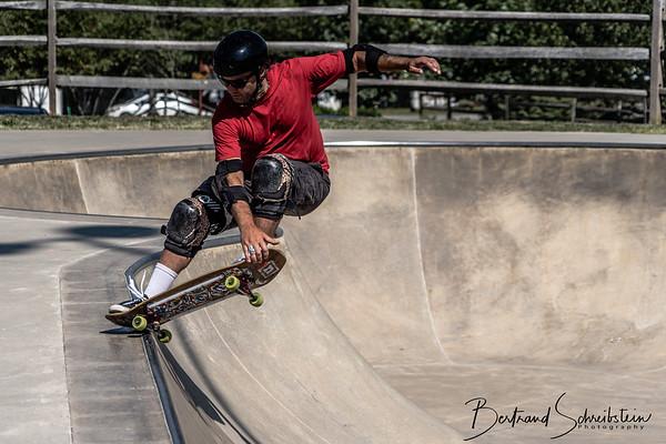 Lake Fairfax Skatepark 7-14-18