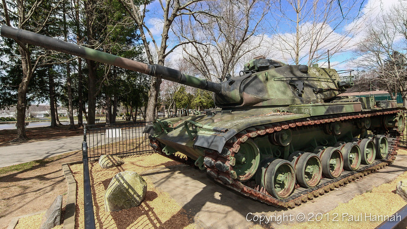War Memorial Park - Johnston, RI - M60A3