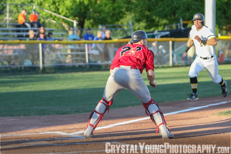 Brantford Red Sox at Kitchener Panthers Intercounty Baseball League Playoffs Round 1, Game 2 August 10, 2018
