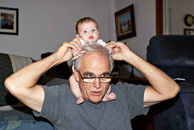 Hannah and Gramps 2013