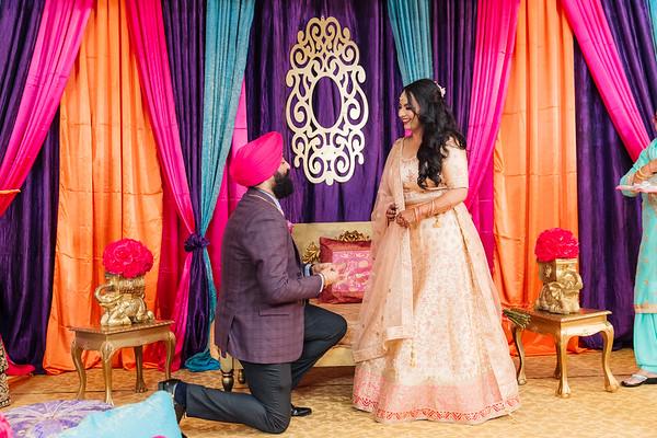 Engagement & Sangeet
