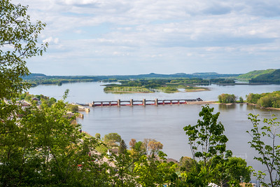 USA, IA - Great River Road National Scenic Byway
