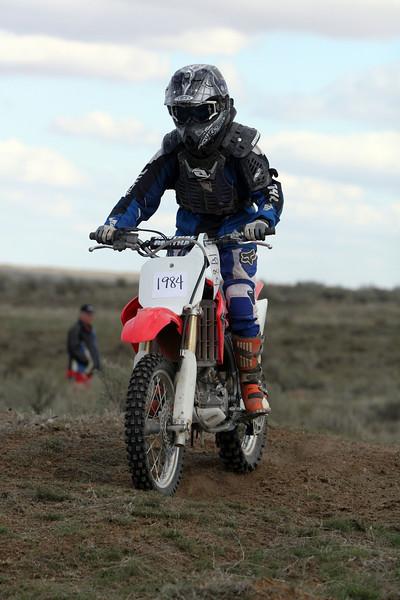 2009 Desert 100 Kids Race #1 - Red Bikes