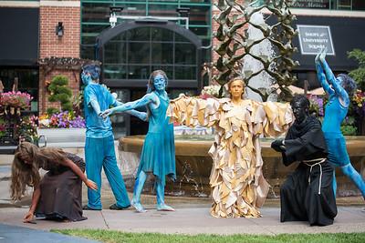 2016-07-21 Living Sculptures