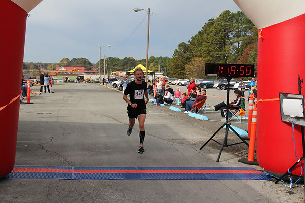 2013 HSV Half Marathon Finishline - Mike O'Melia