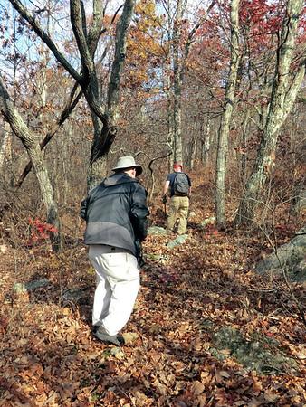 Trail work November 2013