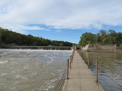 Rocky Ford Dam & Fishing Area - October 2017
