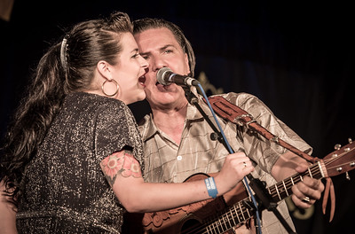 The Tinstars with Miss Ruby Pearl, Rockabilly Rave 2017