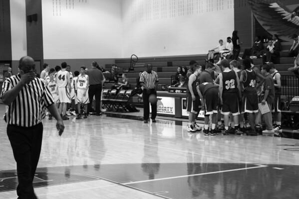 Frisco Boys Basketball vs. Liberty HS 2-17-09 Lost
