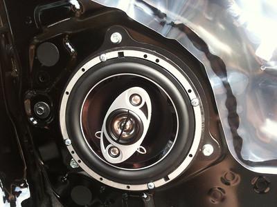 2013 Nissan Versa 1.6 base model Front Speaker Installation - USA