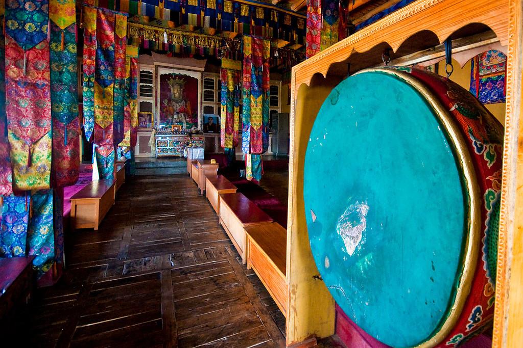 Inside the Diskit Temple