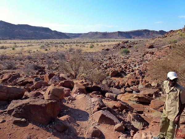 Landscape of Twyfelfontein, Namibia photo 1