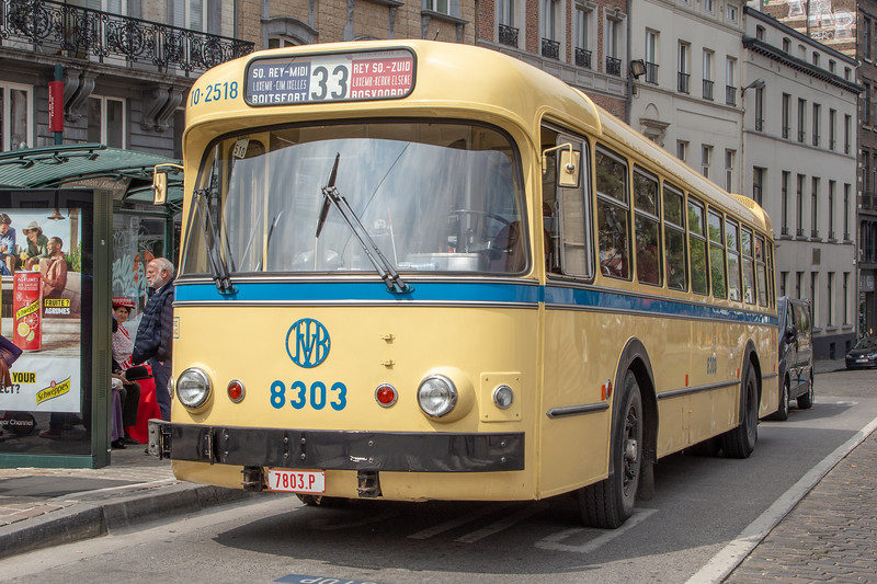 1961 Brossel A98 with Van Hool body
