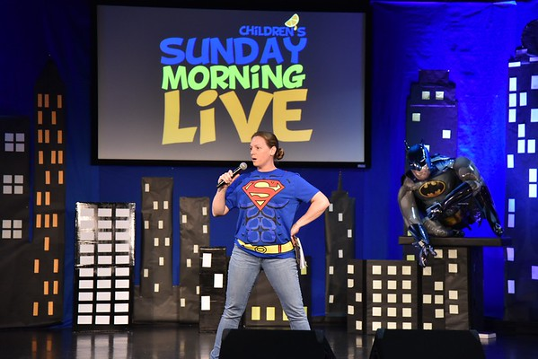Sunday Morning Live 10-01-2016 Super Heroes
