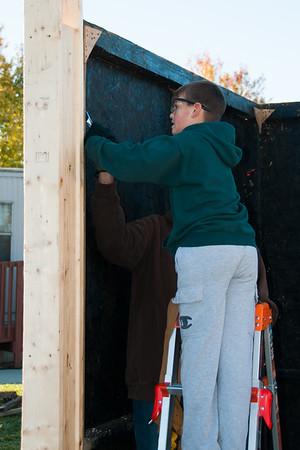 Nativity Stable Build - Nov. 12th, 2016