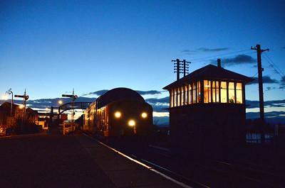 37703 on the Bo'ness and Kinneil Railway. 06/09/14.