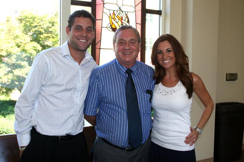 Chris and Chuck Miller with Sara Fogerty