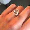 2.32ct Flat Oval Shape Diamond GIA J SI1 28