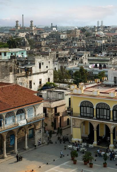 View of Havana la Vieja - a crumbling city,   Cuba, 2006