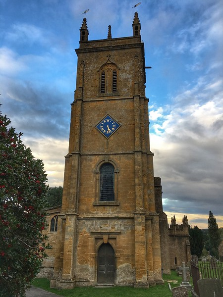 St Peter & St Paul Church, Blockley, Cotswolds, England.