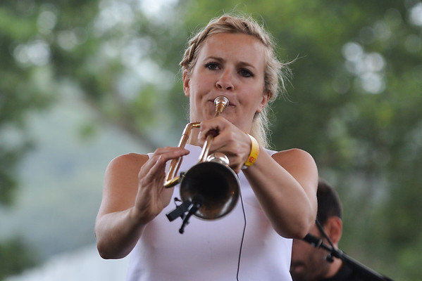 Alison Balsom with the English Concert perform at Latitude 2013 - 21/07/13