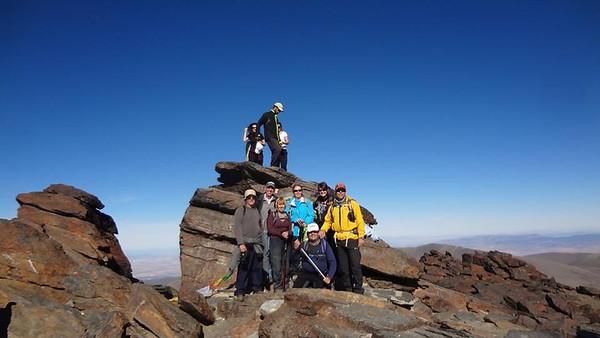 Mulhacen day ascent 1st Nov 2013