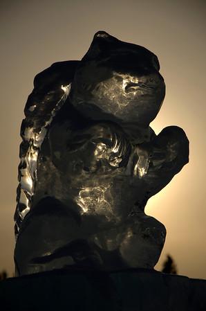 Alaska Ice Sculptures