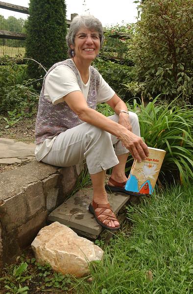 Marsha Low authors, 'The Orange Robe'