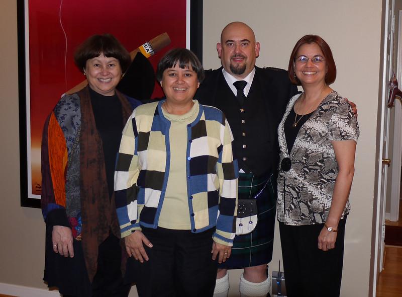 Kris, Leonie, Craig & Julie