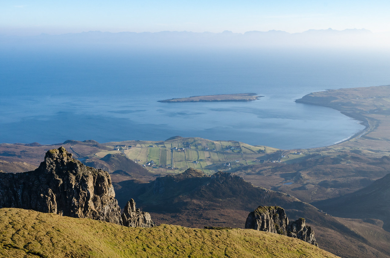 The view to the Applecross Pass | Hiking the Quiraing