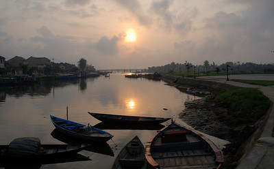 Sunrise at Hoi An, pt. 2 - March 2008
