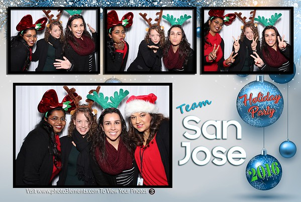 Team San Jose Holiday Lunch