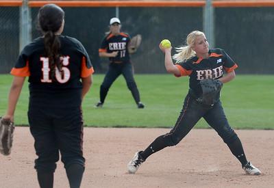 Photos: Berthoud Vs. Erie Softball 9/17/15
